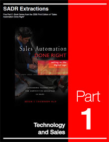 SADR Part 1 - Technology and Sales