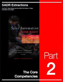 SADR Part 2 - The Core Competencies