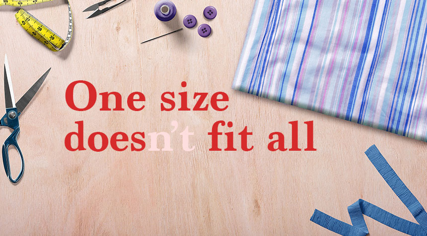 One size fit all